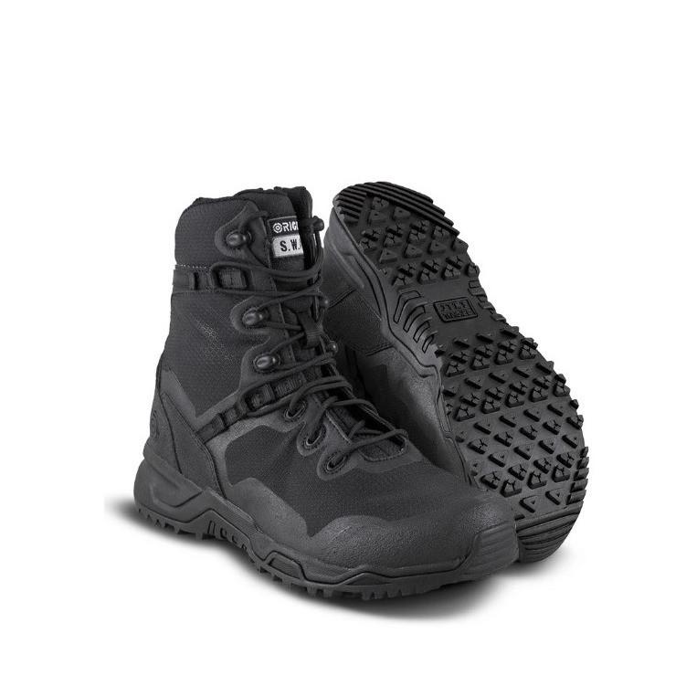chaussures d'intervention original swat alpha fury 8'' confort légèreté souplesse rangers sécurité - Voir en grand