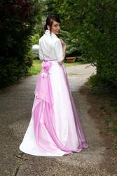 Robe modulable Fatelle Dos version cérémonie - Voir en grand