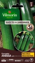 courgette anissa hybride f1 vilmorin graine semence potager semis sachet - Voir en grand