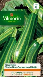 courgette verte non coureuse d'italie vilmorin graine semence potager semis sachet - Voir en grand