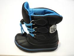Après ski modèle avalanche noir et bleu - Voir en grand
