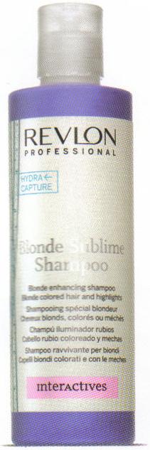 BLONDE SUBLIME SHAMPOO  REVLON Shampooing spécial blondeur - Shampooings - CEZARD COIFFURE - Voir en grand