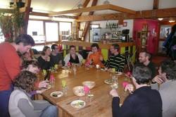 Auberge en chartreuse, repas bio  - Bar et restauration de notre gite - GITE LA RUCHE A GITER - Voir en grand