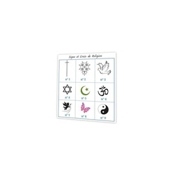 croix de religion, signes religieux, symbole et croyance, imprimeur amalgame grenoble