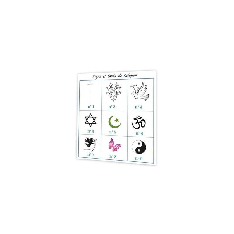 croix de religion, signes religieux, symbole et croyance, imprimeur amalgame grenoble - Voir en grand