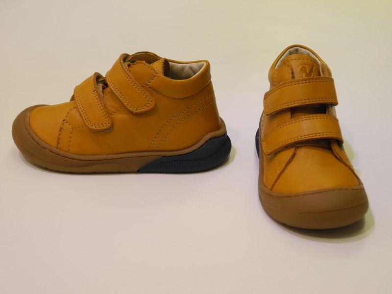 Chaussures souple montante velcros - Voir en grand