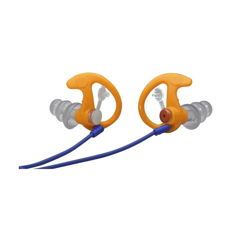 bouchons anti-bruit ep4 sonic defender plus surefire protection auditive pour le tir sportif - Voir en grand