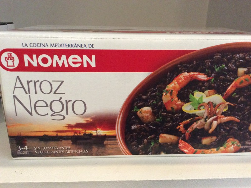 Riz noir - RIZ & PATES - LA COCINA, Saveurs d'Espagne - Voir en grand