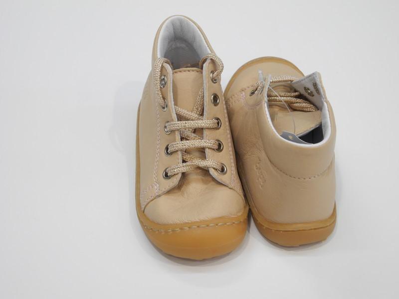 Chaussure souple bébé fille Boy - Voir en grand