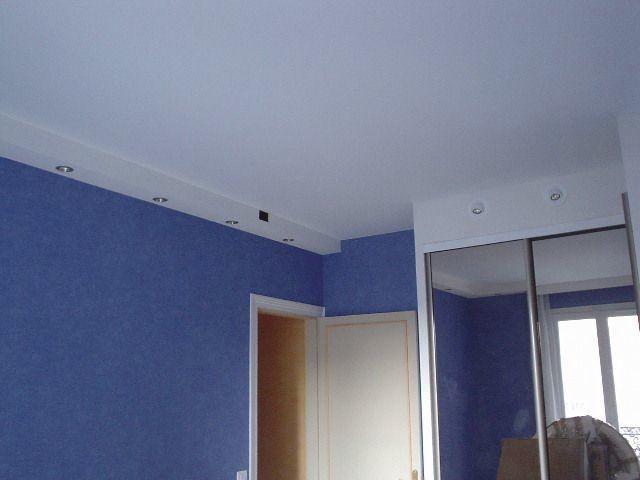 photo chambre bleue - Voir en grand