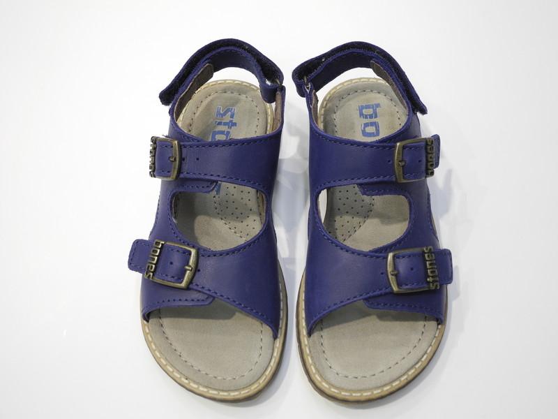 Sandales garçons Stones & Bones bleu - Voir en grand