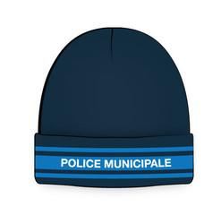 bonnet police municipale marine 3 bandes gitane taille unique pour les missions extérieures
