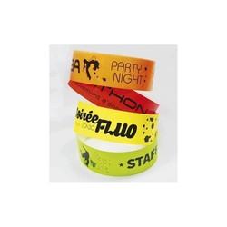 bracelet personnalisé, indechirable, impression quadri, amalgame imprimeur à grenoble