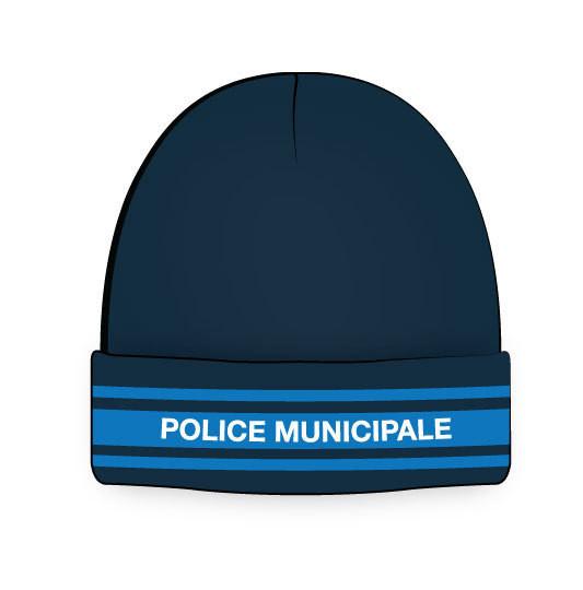 bonnet police municipale marine 3 bandes gitane taille unique pour les missions extérieures - Voir en grand