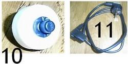 10: Roulette 11: Cable machine à café Priméa - touch touch + et ring - Saeco