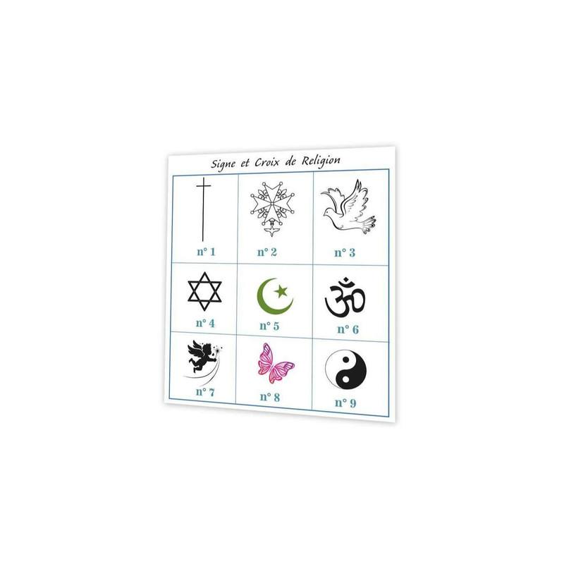 imprimerie amalgame grenoble croix de religion, signes religieux, symbole et croyance - Voir en grand