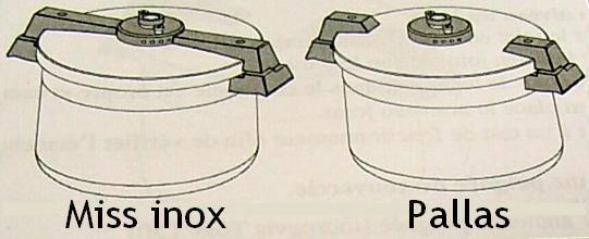 cocotte miss inox ou pallas sitram joints r gulateur. Black Bedroom Furniture Sets. Home Design Ideas