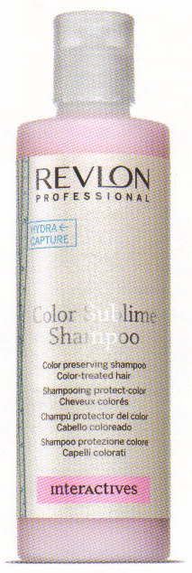COLOR SUBLIME SHAMPOO REVLON Shampooing protect-color - Shampooings - CEZARD COIFFURE - Voir en grand