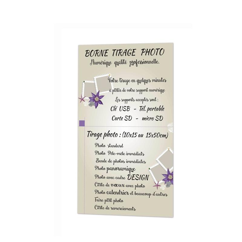 A grenoble, atelier photographie, borne en libre-service Tirage photo numerique amalgame Print Greno - Voir en grand