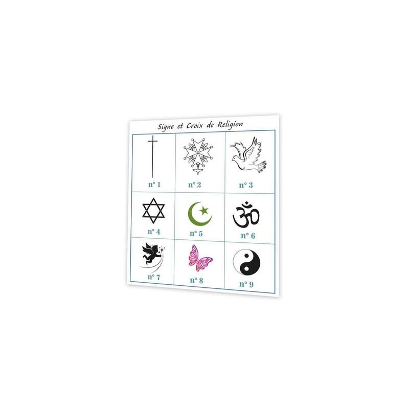 croix de religion, signes religieux, symbole et croyance, imprimerie Print grenoble - Voir en grand