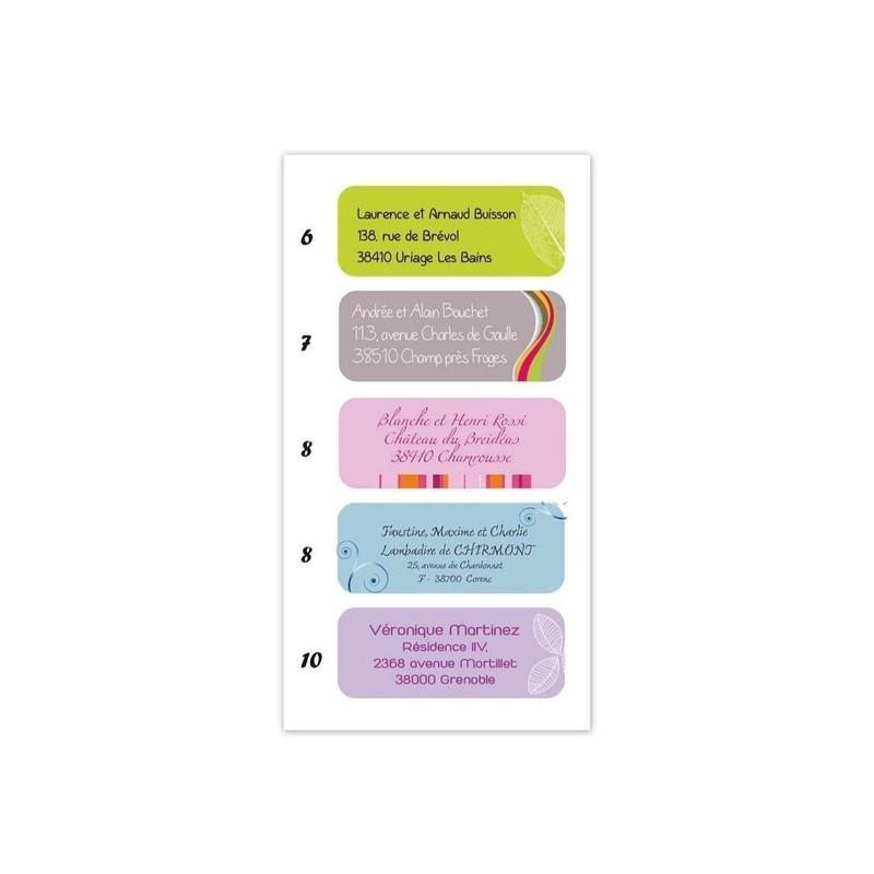 etiquette adhésive boite dragée, 15 design, amalgame imprimeur graveur grenoble - Voir en grand