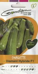 courgette diamant hybride f1 gondian graine semence potager semis sachet - Voir en grand