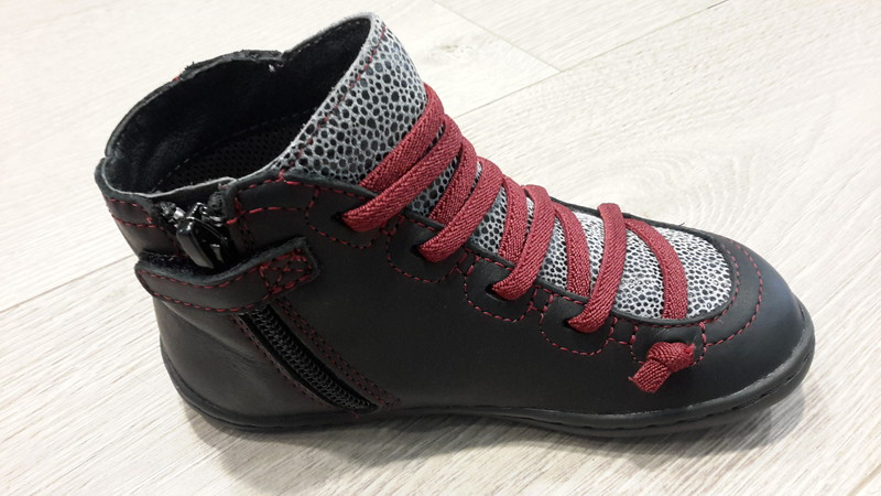 Chaussures CAMPER montante zip - Voir en grand