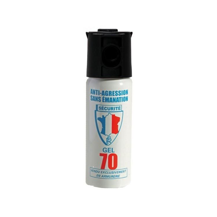 bombe lacrymogène bombe de défense gel cs 50 ml produit chimique contre les individus - Voir en grand