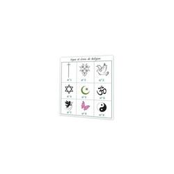 croix de religion, signes religieux, symbole et croyance, imprimeur graveur amalgame à grenoble - Voir en grand