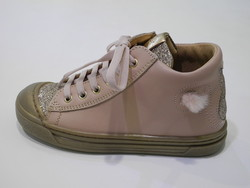 Chaussures montante fille rose