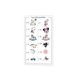 logos decors pour serviettes papier amalgame imprimeur à grenoble - Voir en grand