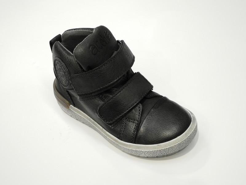 Chaussures pour garçons en cuir - Voir en grand