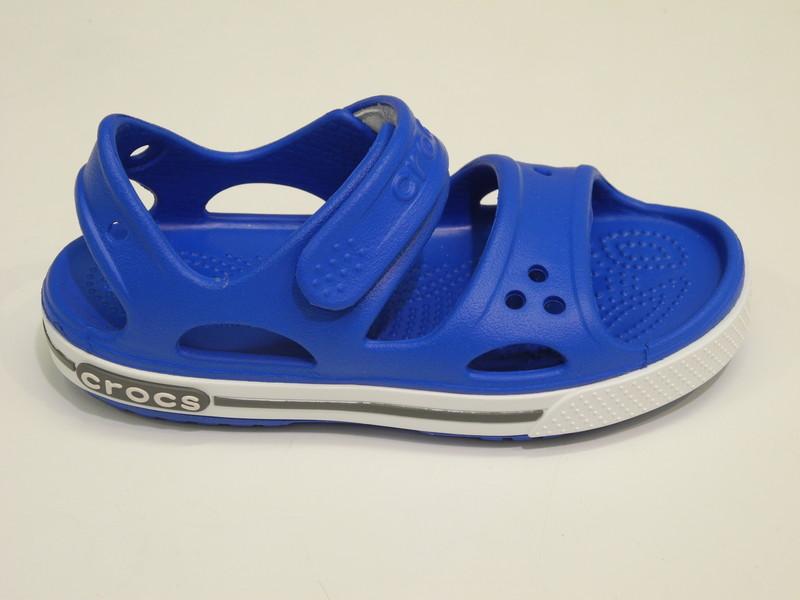 Crocs sandale bleu vif enfant - Voir en grand