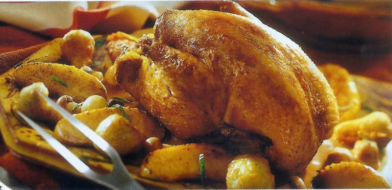 La rôtisserie : poulets rotis chauds - Charcuterie -  Rôtisserie - DELAS TRAITEUR - Voir en grand