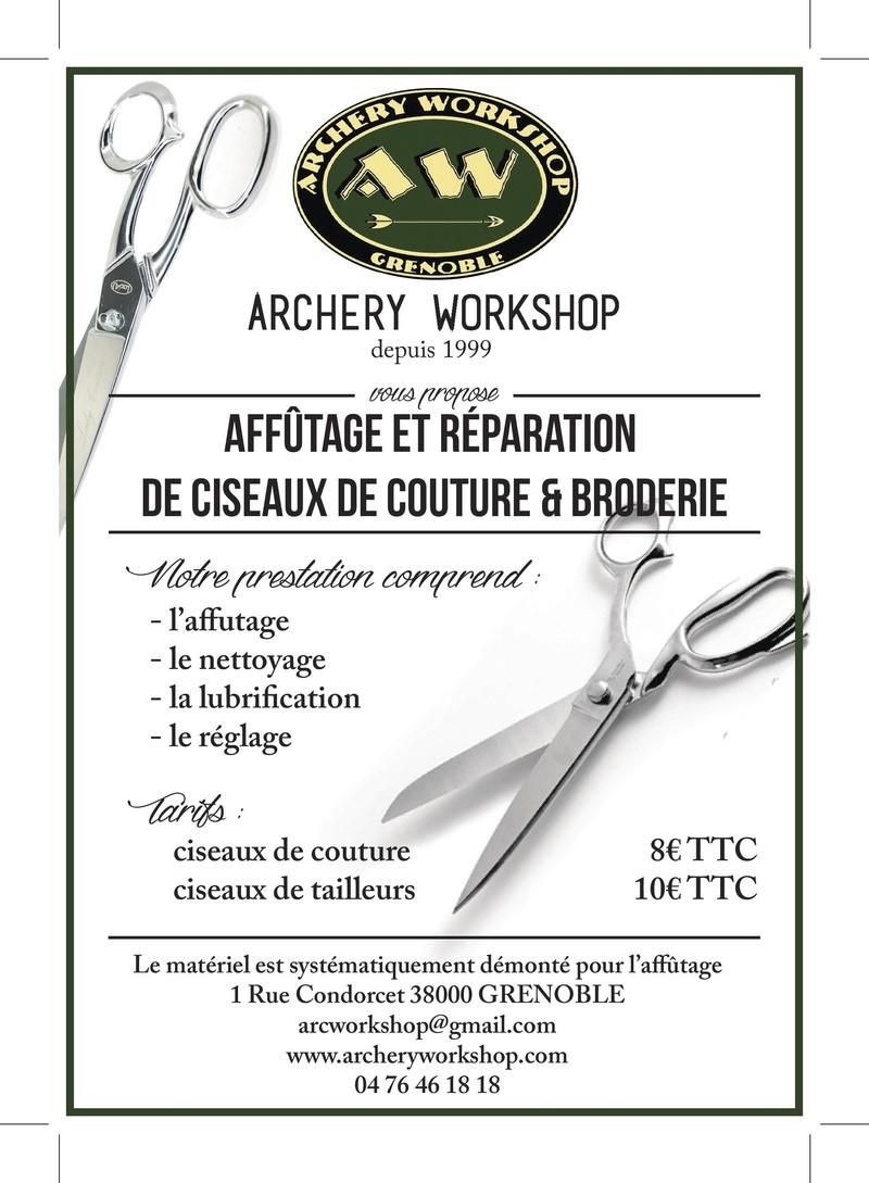 Affutage ciseaux - AFFUTAGE - ARCHERY WORKSHOP (AW) - Voir en grand