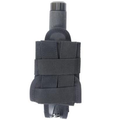 porte bâton de défense pivotant GK pas cher 9860PSM-PM à porter au ceinturon ou sur un gilet tactiqu - Voir en grand