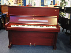Piano occasion Steinway modele V 125 acajou satiné - Notre sélection pianos occasion:Yamaha,Sauter,Bech - ART & PIANO - Patrick BLERIOT - Voir en grand