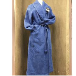 Peignoir femme 100% pure laine cocooning VAL D'ARIZES - Voir en grand