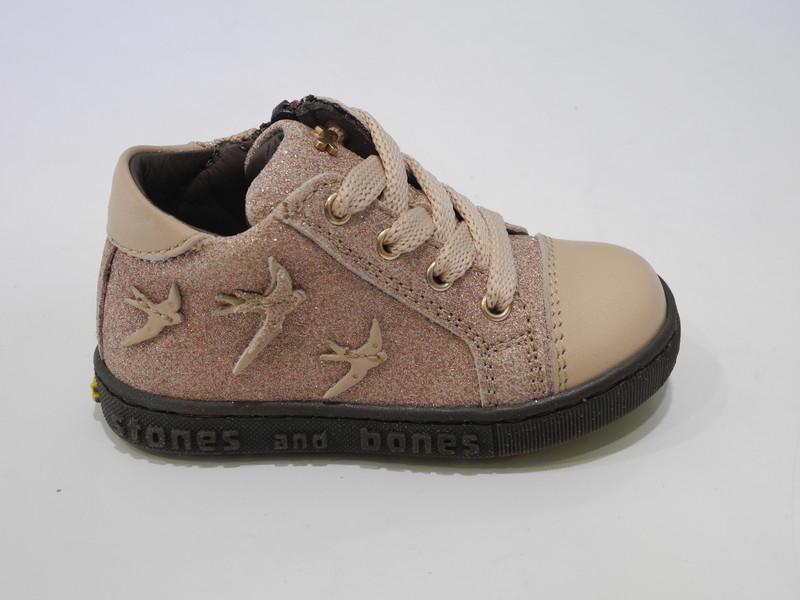Chaussures fille cuir rose - Voir en grand