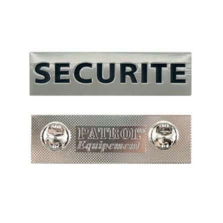 pin's sécurité en métal pour chemise cravate costume veste facile à mettre en place identification - Voir en grand