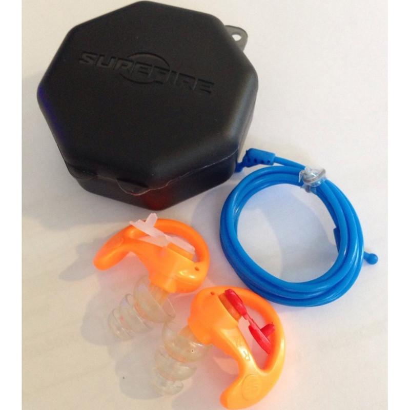 bouchons anti-bruit ep4 sonic defender plus surefire protection auditive pour le tir avec filtre - Voir en grand