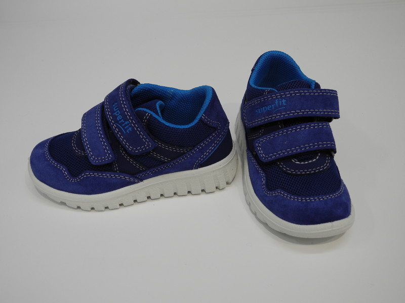 Chaussure basket velcro SUPERFIT - Voir en grand