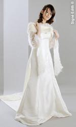 Robe de mariée unique de createur grenoble - Voir en grand