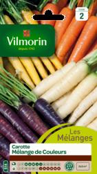carotte melange de couleurs vilmorin graine semence potager sachet semis
