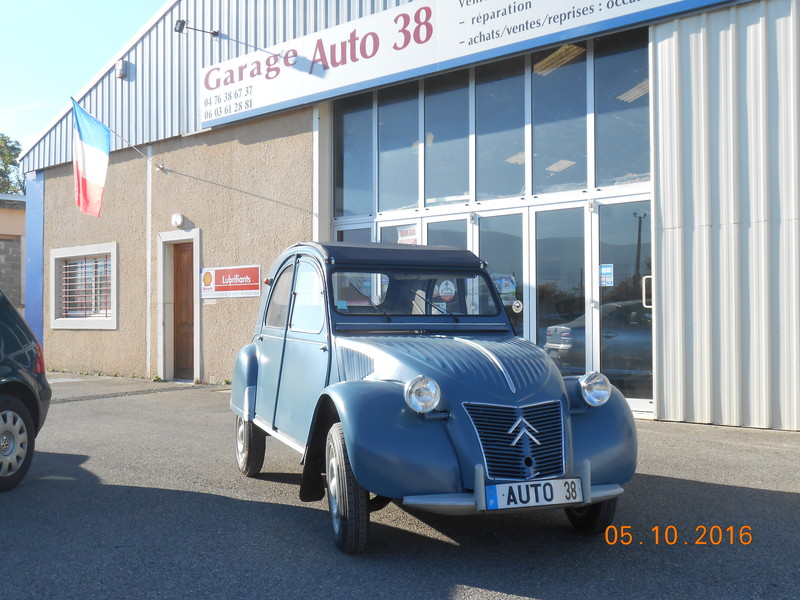 Restauration voiture ancienne 2cv garage auto 38 for Garage auto reprise vehicule