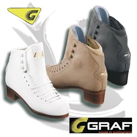 Bottines de Danse sur glace GRAF - PATINS A GLACE DE DANSE GRAF - GREEN et GLACE Patinage et sportwear - Voir en grand