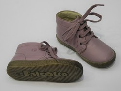 Chaussures FALCOTTO cuir rose  - Voir en grand