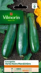 courgette verte noire maraichere vilmorin graine semence potager semis sachet - Voir en grand