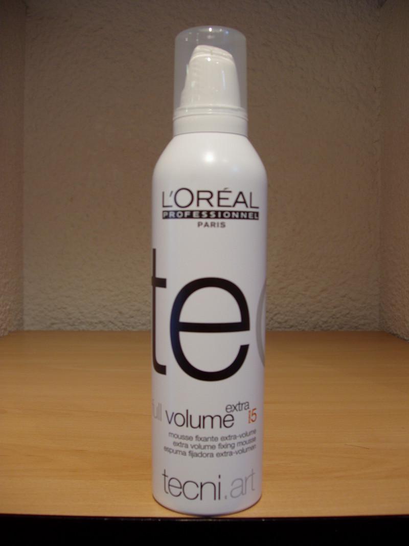Mousse de coiffage Full volume extra - Produits L'oréal - ROSELINE COIFFURE - Voir en grand