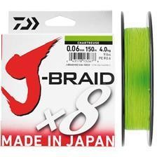 J BRAID X8 CHARTREUSE - TRESSE - AVENIR PECHE 38 - Voir en grand